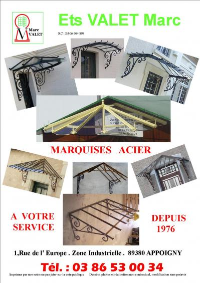 Marquises acier